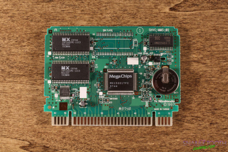 Nintendo Power Cartridge PCB Front