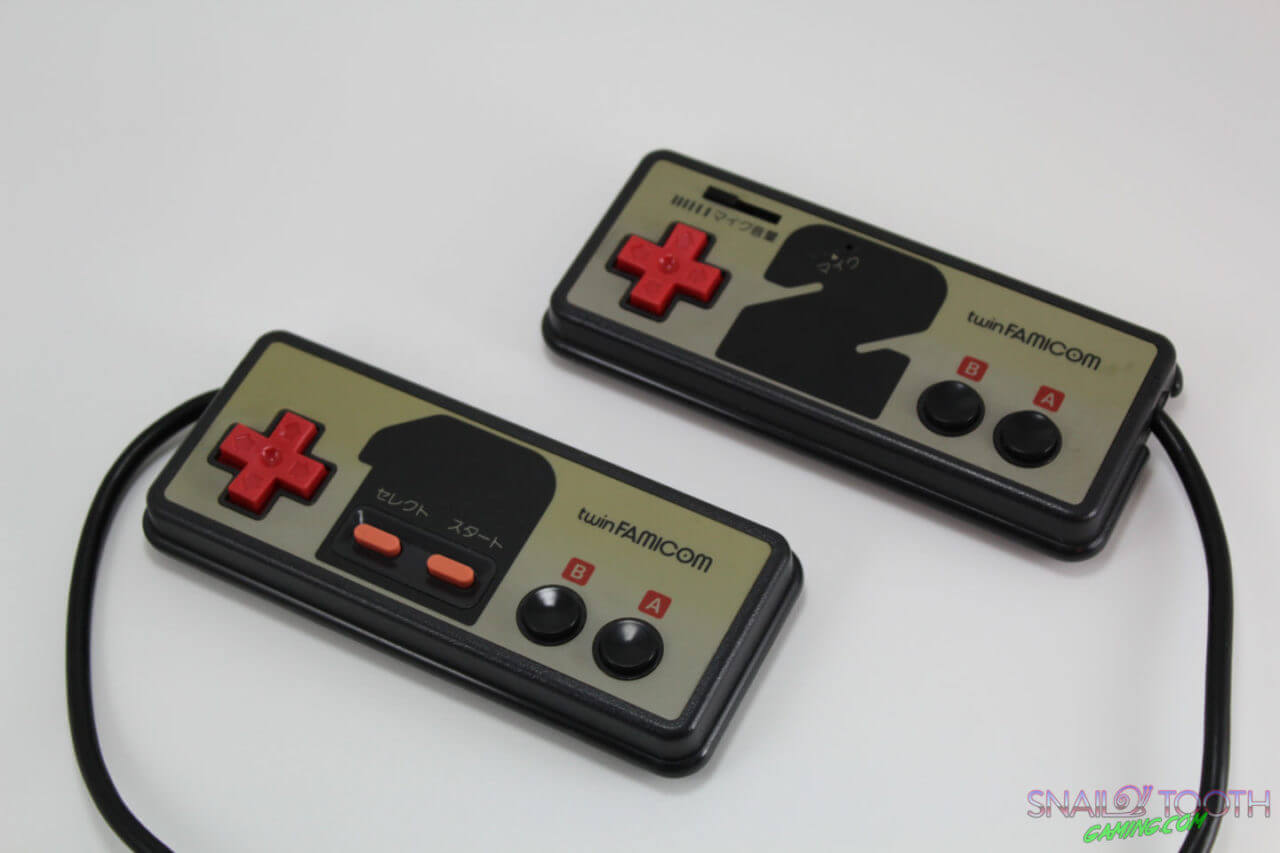 Sharp Twin Famicom Controllers