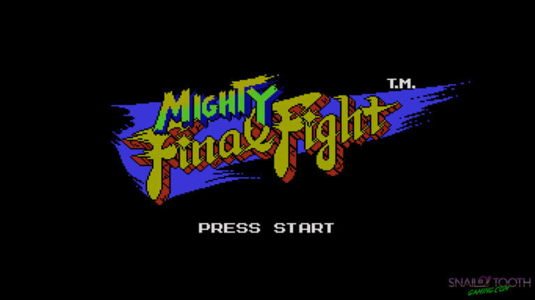 Mighty Final Fight Title Screen