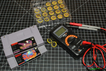 Changing Save Batteries in Video Game Cartridges