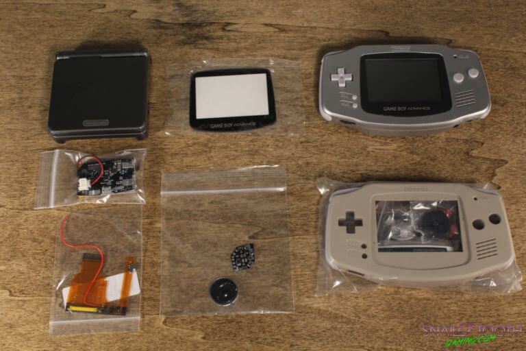GBA mod parts