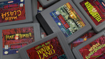 Virtual Boy Games Wallpaper 4k