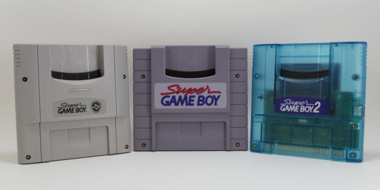 Different Super Game Boy Models