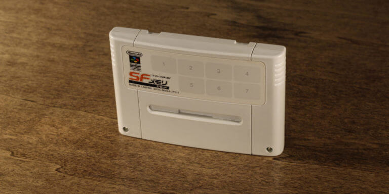 Super Famicom Nintendo Power Cartridge